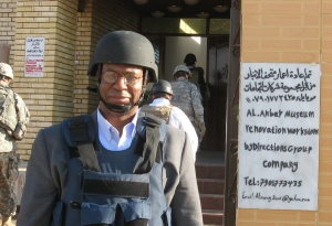 Better days,  Visiting the Ramadi Museum with a CODEL.